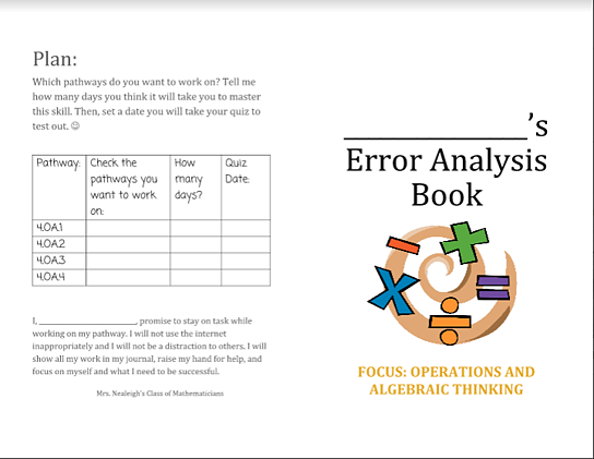 Error Analysis Booklet