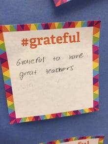 Grateful note 1