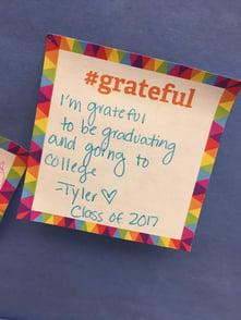 Grateful note 2