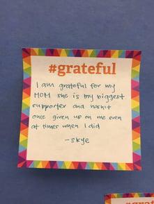 Grateful note 3
