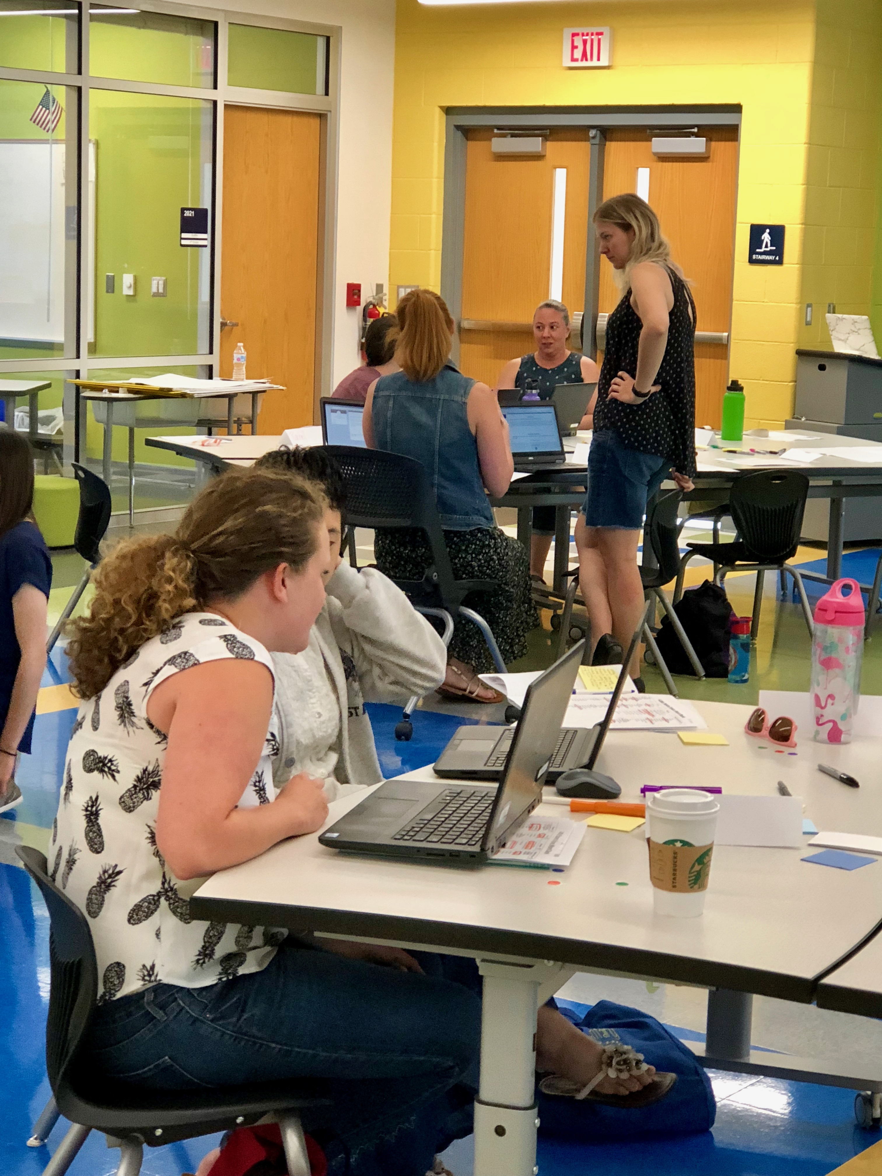 Group of teachers share feedback on their vision for the upcoming school year