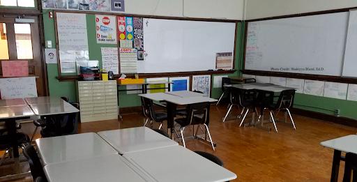 Shakiyya Bland classroom
