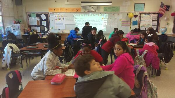 Students in the classroom - Breakout Box